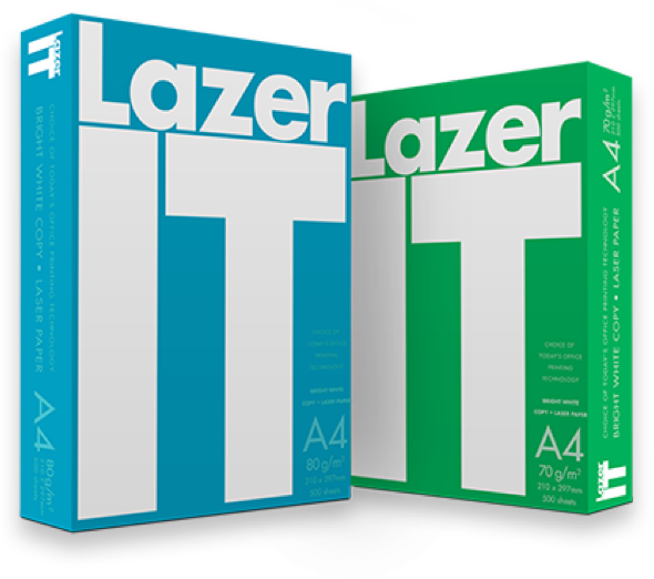 Lazer IT printing paper